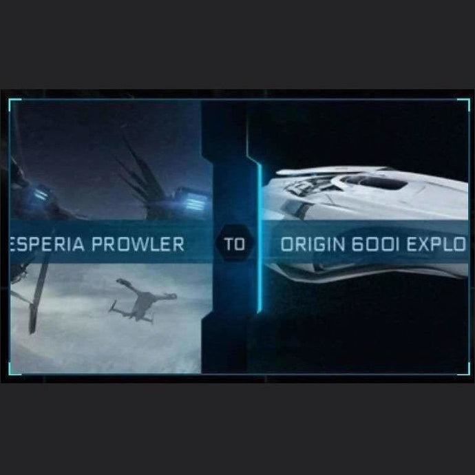 Prowler to 600i Explorer | Upgrade | Might | Space Foundry Marketplace.