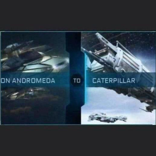 Andromeda to caterpillar upgrade | Upgrade | X3R0C00L | Space Foundry Marketplace.