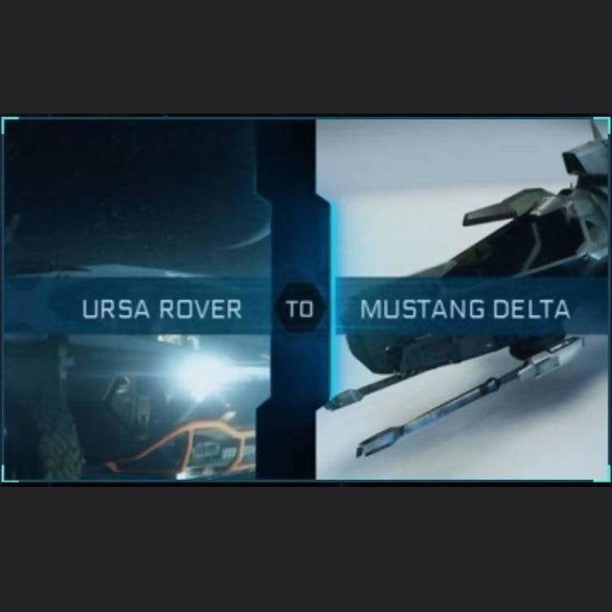 Ursa Rover to Mustang Delta | Upgrade | Might | Space Foundry Marketplace.