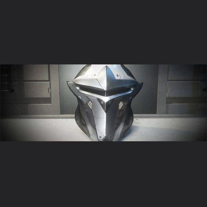 SAVIOR COLLECTION 'ICEBORN' PALADIN HELMET | Add-On | JPEGS STORE | Space Foundry Marketplace.