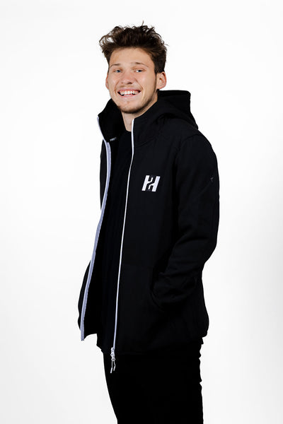 2HYPE Black Full-Zip Jacket