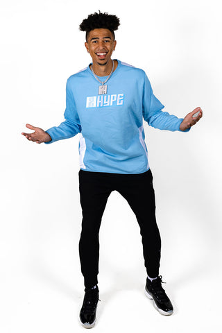 2HYPE Lt. Blue Crewneck