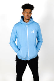 2HYPE Lt Blue Full-Zip Jacket