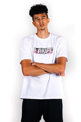 2HYPE Rose White Tee