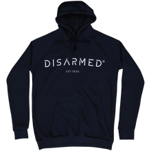 Load image into Gallery viewer, Oversize 3D Embroidered Hoodie - Navy Blue