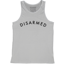 Load image into Gallery viewer, Disarmed Gym Tank - White