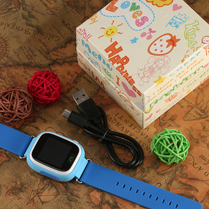 Smart Watch Kids SOS Alarm Clock GPS