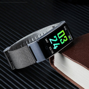 Metal Smart Band Wristband