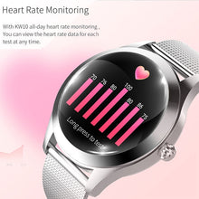 Load image into Gallery viewer, KW10 Smart Watch Women IP68 Waterproof