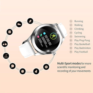 KW10 Smart Watch Women IP68 Waterproof