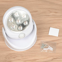 Load image into Gallery viewer, 7LED Night Light Magnetic Wireless Eco-friendly Detector Wall Lamp