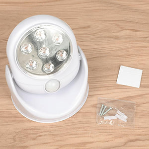 7LED Night Light Magnetic Wireless Eco-friendly Detector Wall Lamp