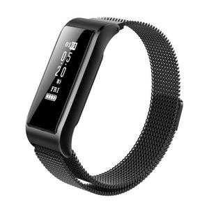 Smart Band Metal Strap Wristband
