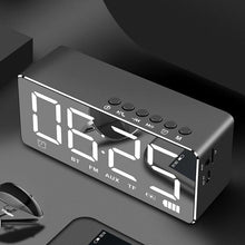Load image into Gallery viewer, Home Mirror Alarm Clock Speaker Wireless Mobile Mini