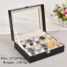 Load image into Gallery viewer, European Style Black Watch Storage Box