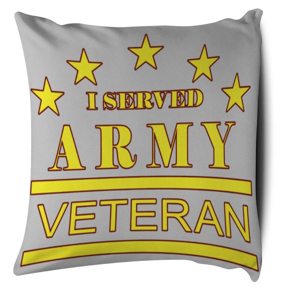 Army Veteran (Pillow Case)