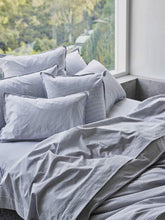 Load image into Gallery viewer, Fog Stripe - bed linen-Bed Linen - Cotton-Sheets on the Line