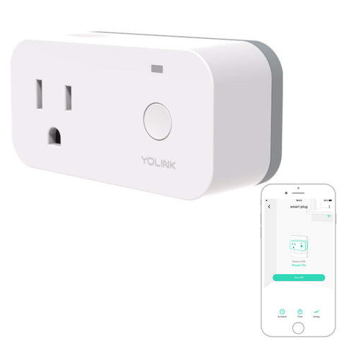 YoLink Smart Plug Works with Alexa, Google Assistant, and IFTTT, YoLink Hub Required