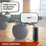 YoLink Smart Sprinkler Controller Works with Alexa, Google Assistant, and IFTTT, YoLink Hub Required