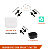 YoLink Smart IR Remote Works with IFTTT, YoLink Hub Required
