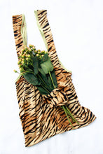 Load image into Gallery viewer, TOTE BAG + MATCHING SCRUNCHIE ~ TIGRESS