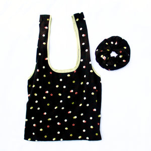 TOTE BAG + MATCHING SCRUNCHIE ~ TIGRESS