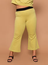 Load image into Gallery viewer, THE KICK FLARE SWEAT PANT ~ Pear