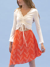 Load image into Gallery viewer, THE TIE WAIST SKIRT ~ VALENTINE