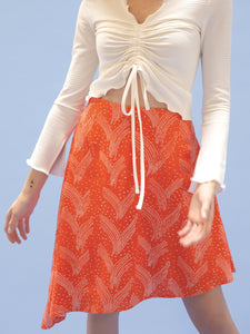 THE TIE WAIST SKIRT ~ FLUTTER