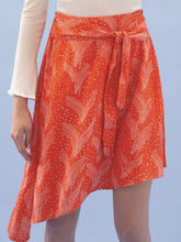 Load image into Gallery viewer, THE TIE WAIST SKIRT ~ FLUTTER (FINAL SALE)