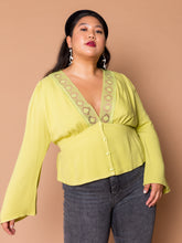 Load image into Gallery viewer, THE LOVERS LACE TOP ~ Pear