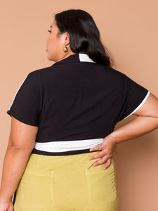 THE BOWLER WRAP TOP ~ YinYang