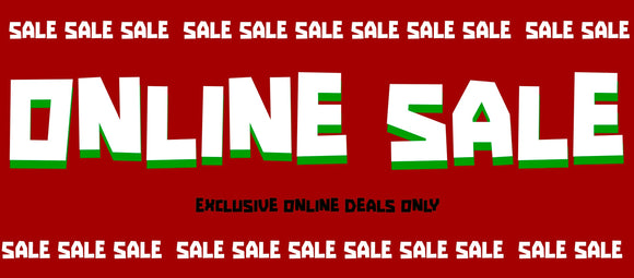 Sales Online Only