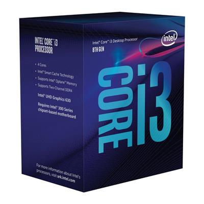 Intel Core i3-8100 @ 3.6GHz