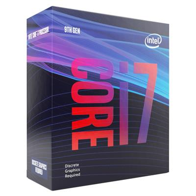 Intel Core i7-9700F @ 3.00GHz (4.70GHz Turbo) *No Graphics*