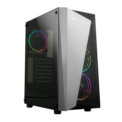 ZALMAN S4 Plus Black Gaming Case With Acrylic Side Window