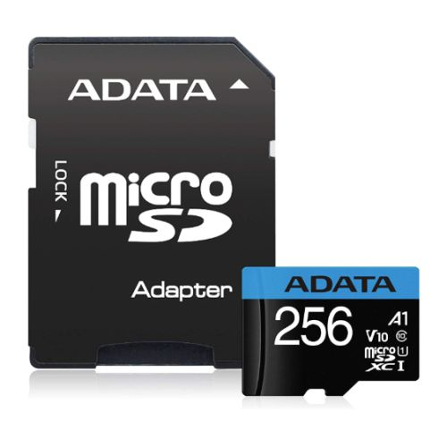 Adata 256GB Premier Micro SDXC Card with SD Adapter