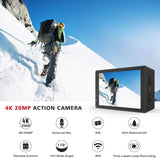 Campark X5 4K 20MP Action Camera