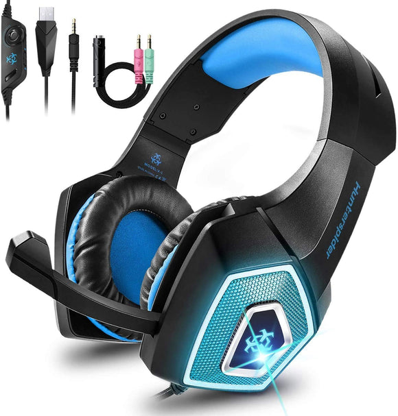 Babacom RGB Wired Gaming Headset