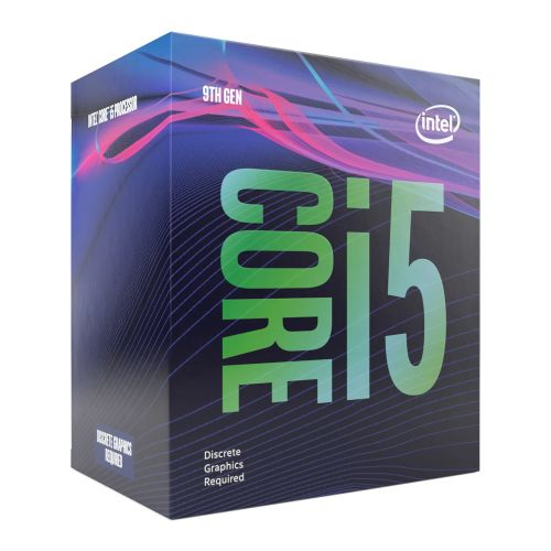 Intel Core i5-9400F @ 3.6GHz (4.2GHz Turbo) *No Graphics*