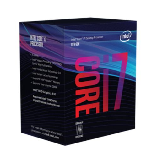 Intel Core i7-8700 @ 3.2GHz (4.6GHz Turbo)