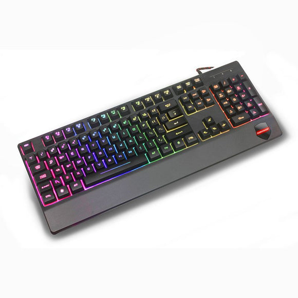 Sonic Wave Hybrid Music LED USB Gaming Keyboard