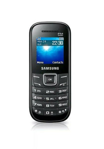 SAMSUNG KEYSTONE 2 GT-E1205Y - BLACK - TORCH