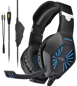 Insmart Over-Ear Gaming Headset, Black