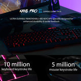 Kane Pro 2 LED Gaming Keyboard & Mouse Combo