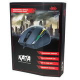 Kata LED Wired Gaming Mouse, Black