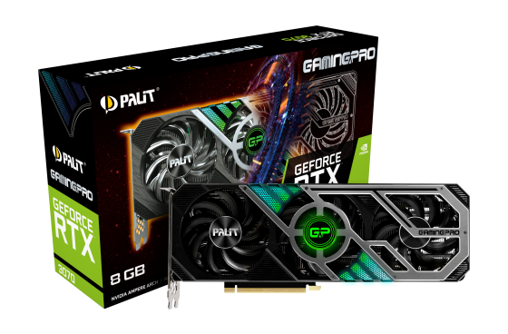 Palit GeForce RTX™ 3070 GamingPro