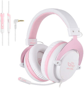 Sades MPower Angel Edition Gaming Headset