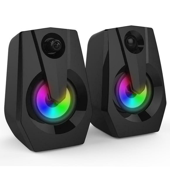 Smalody 2.0 LED Multimedia Speakers