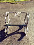 1 pair Horseshoe Cowboy Boot Rack